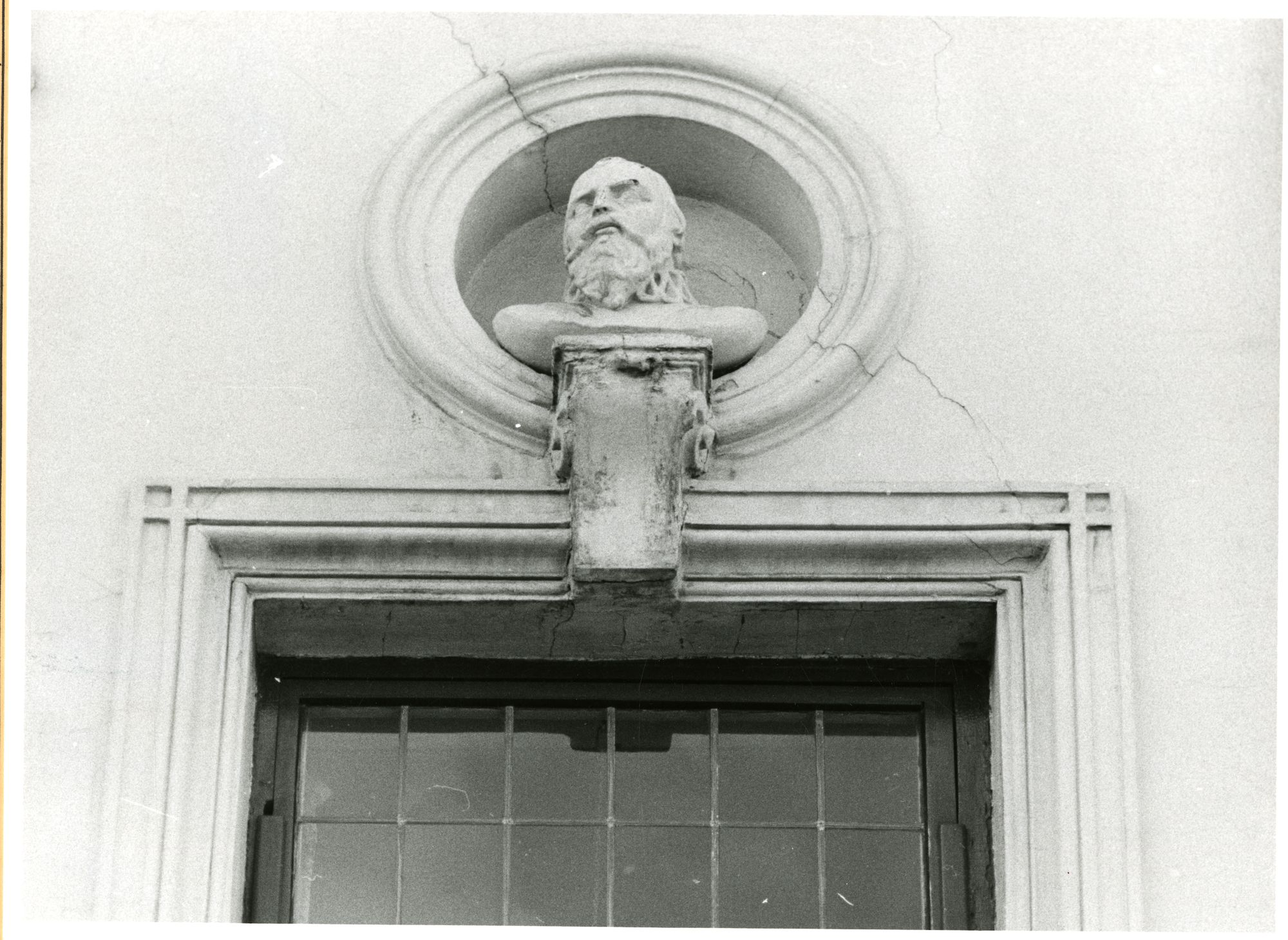 Gent: Jacobijnenstraat 3: Borstbeeld