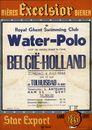 Water-Polo | België - Holland, zondag 4 juli 1948 om 15 uur in Tolhuisbad te Gent