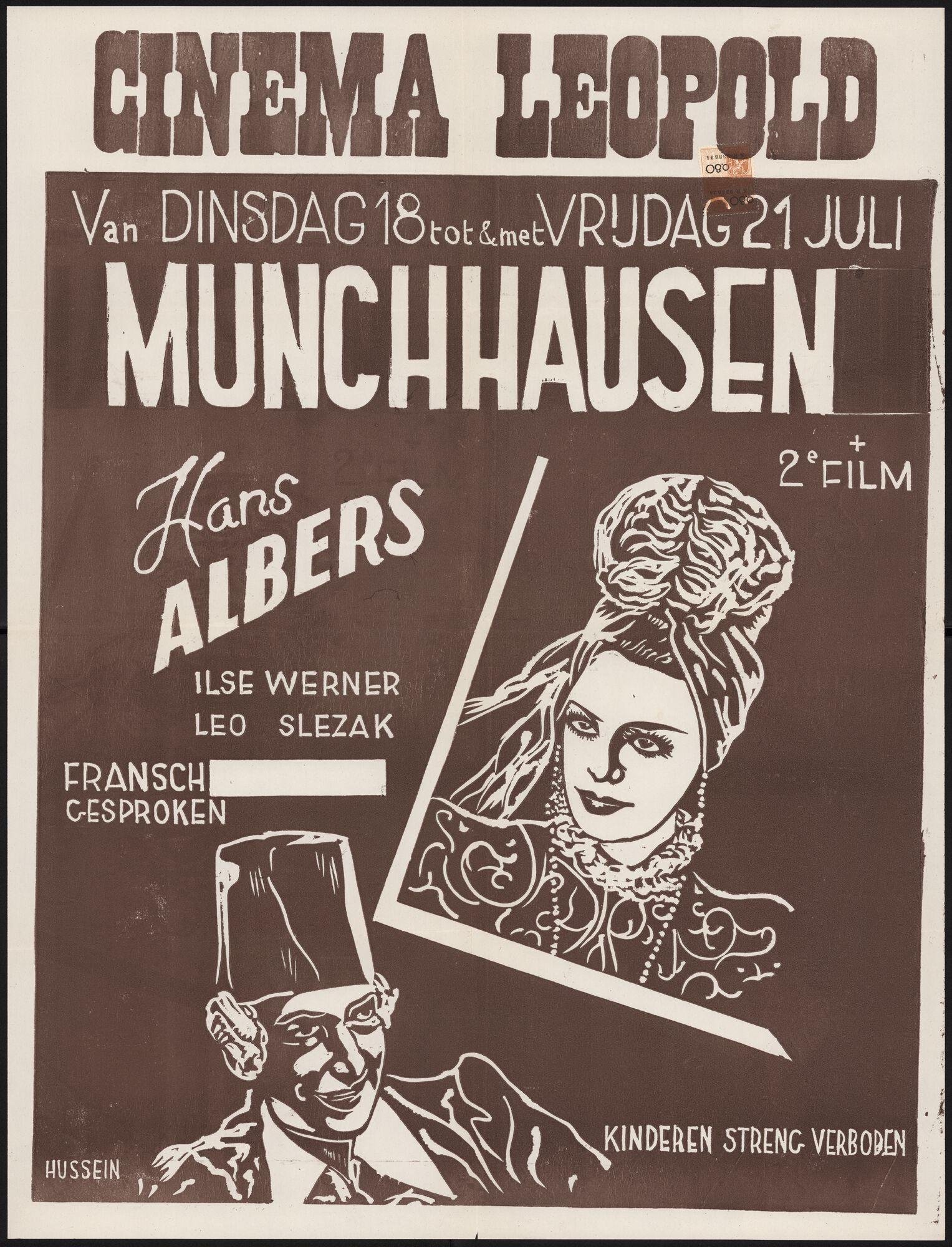 Münchhausen, Cinema Leopold, Gent, 18 - 21 juli
