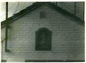 Oostakker: Achtenkouterstraat 92: Gevelbeeld, 1979
