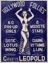 Hollywood Follies, Cinema Leopold, Gent, 1951