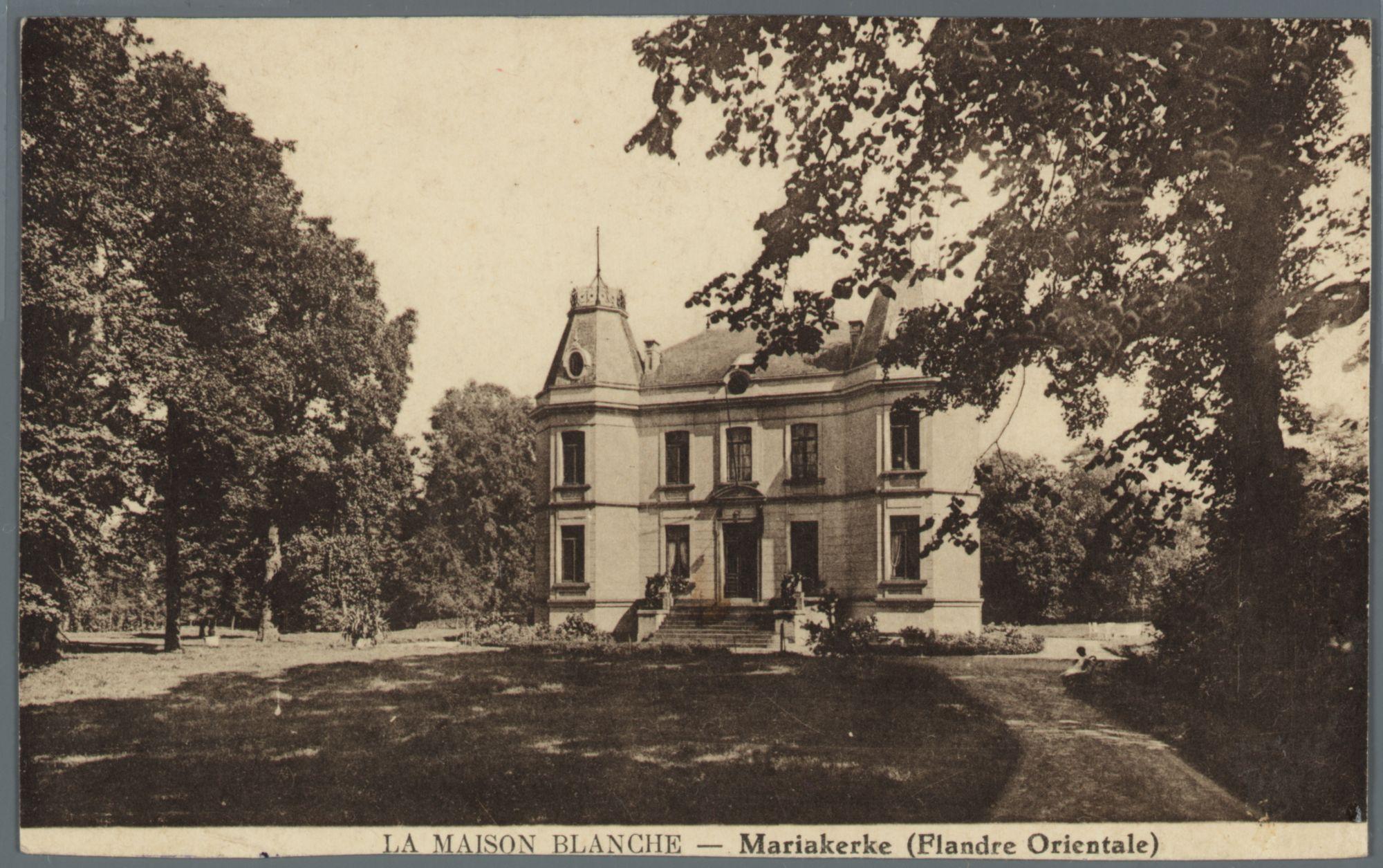 Mariakerke (bij Gent): La Maison Blanche