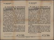 Mob. Etappen-Kommandantur, J. Nr Bt. 120 | Mob. Etappen-Kommandantur, J. Nr Bt. 120.