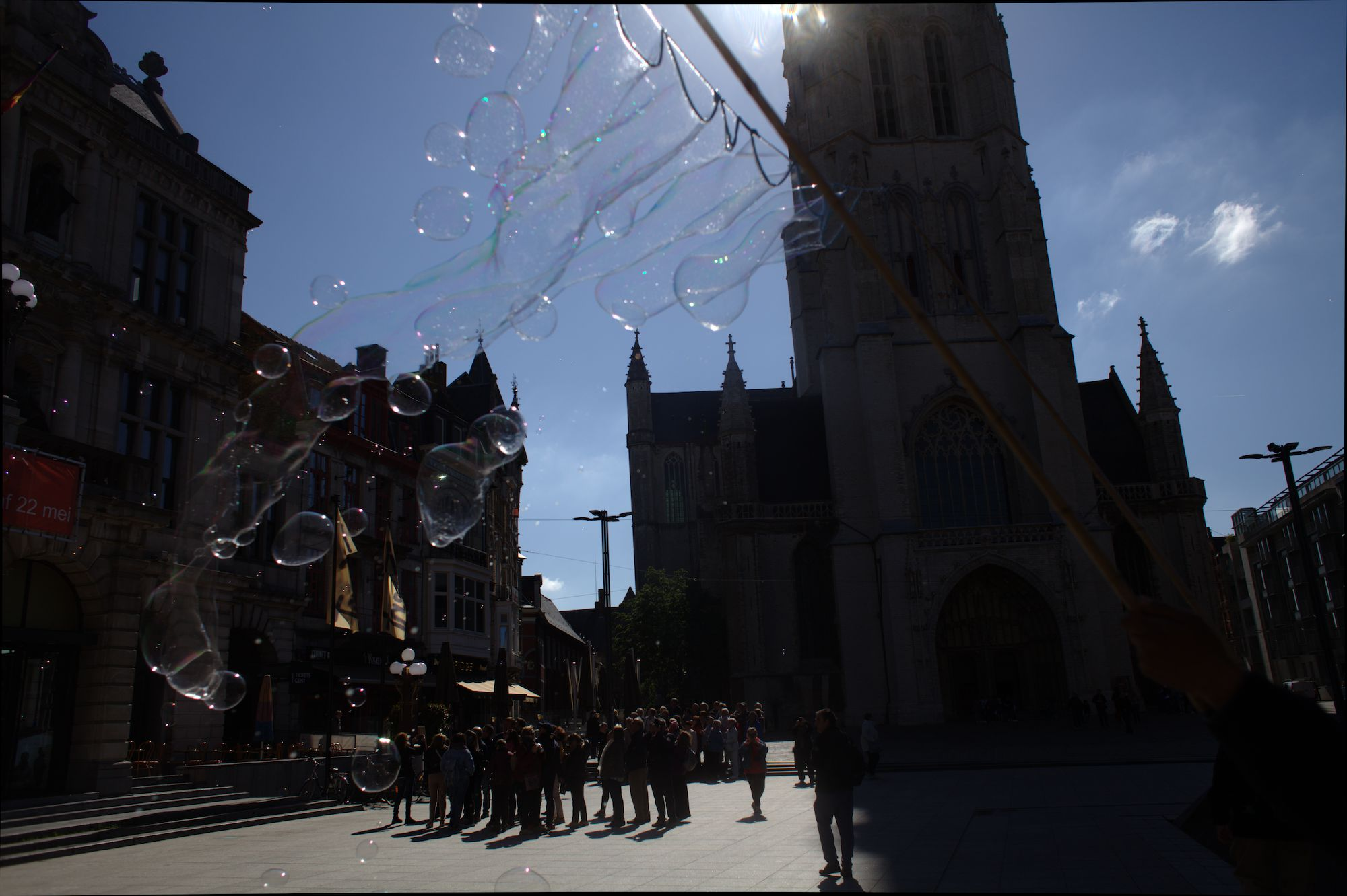 2019-05-14 Stad Gent_St Baafsplein Belfort Zeepbellen_IMG_9824.CR2