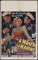 Call out the Marines │ A nous la marine │ Hier komen de zeelieden, [Select], Gent, januari 1949