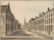 Gent: Sint-Jacobsnieuwstraat en Sint-Jacobskerk