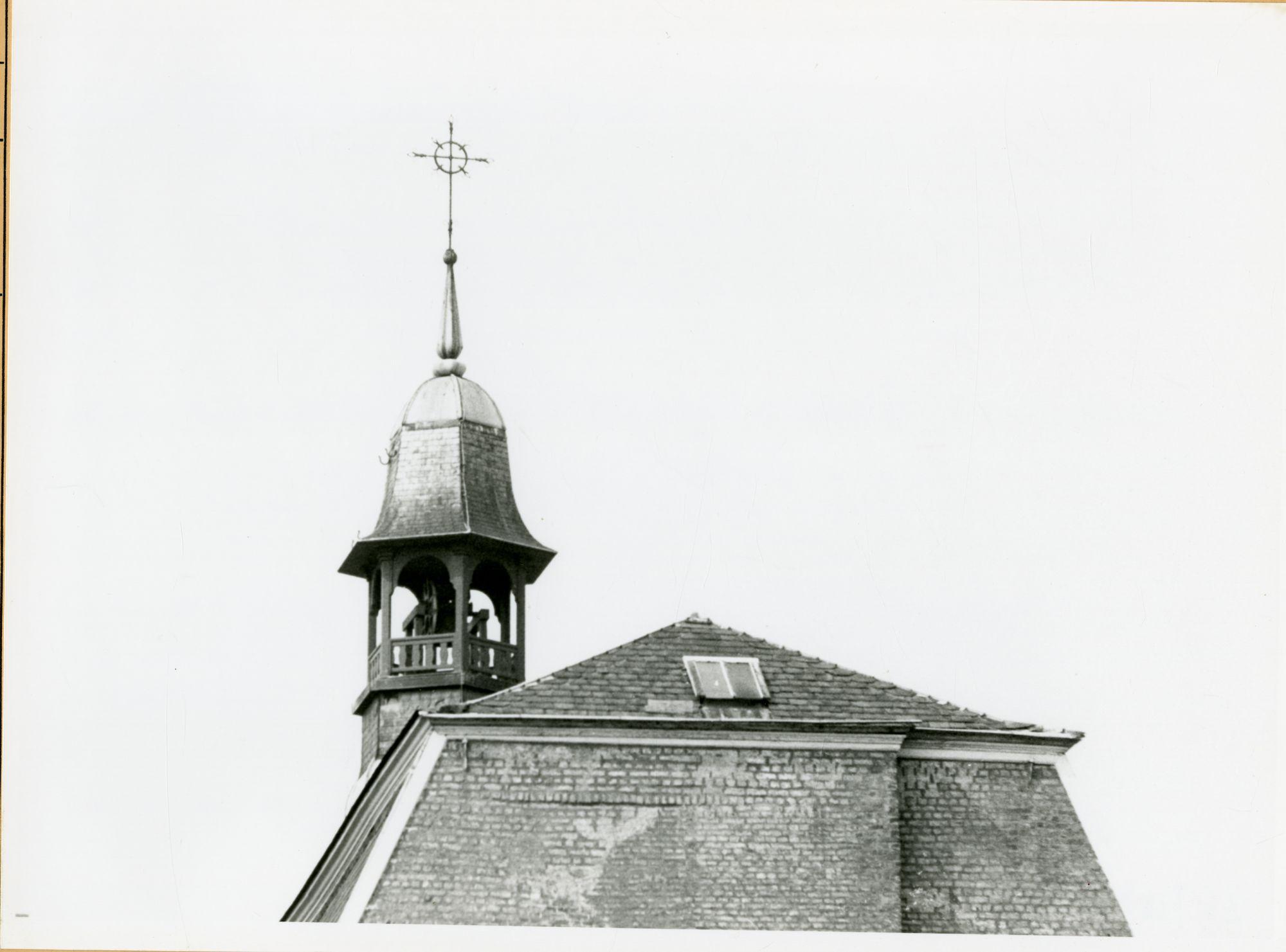 Gent: Erpelsteeg (Nederpolder 1): Moederhuis van de zusters Kindsheid Jesu:dakruiter, 1979