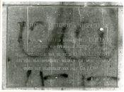 Gent: Blandijnberg 2: Universiteit: Gedenkplaat: Faculteit van letteren en wijsbegeerte, 1979