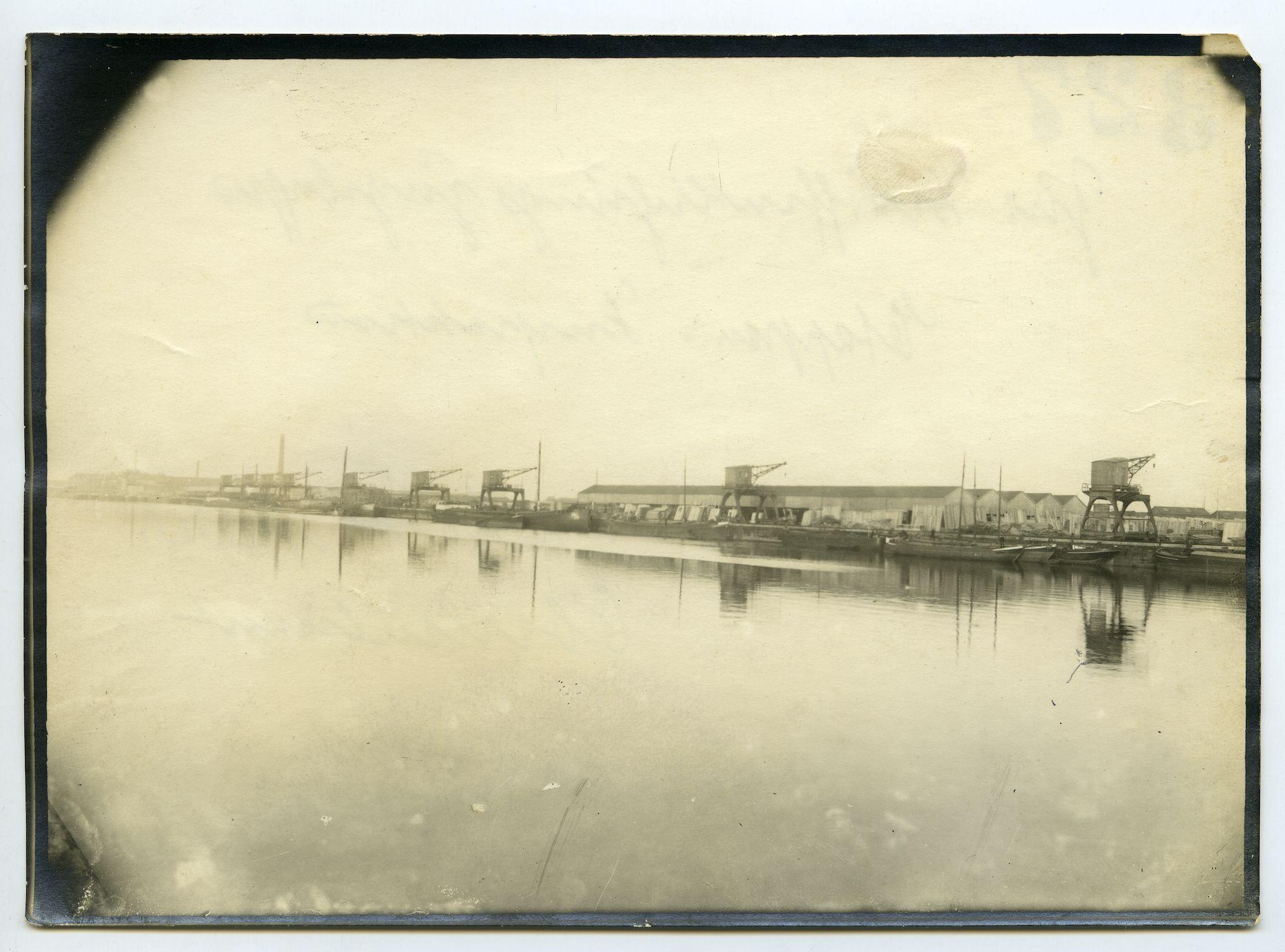 Gent: Haven: Sifferdok en zeekanaal Gent-Terneuzen, 1915-1916