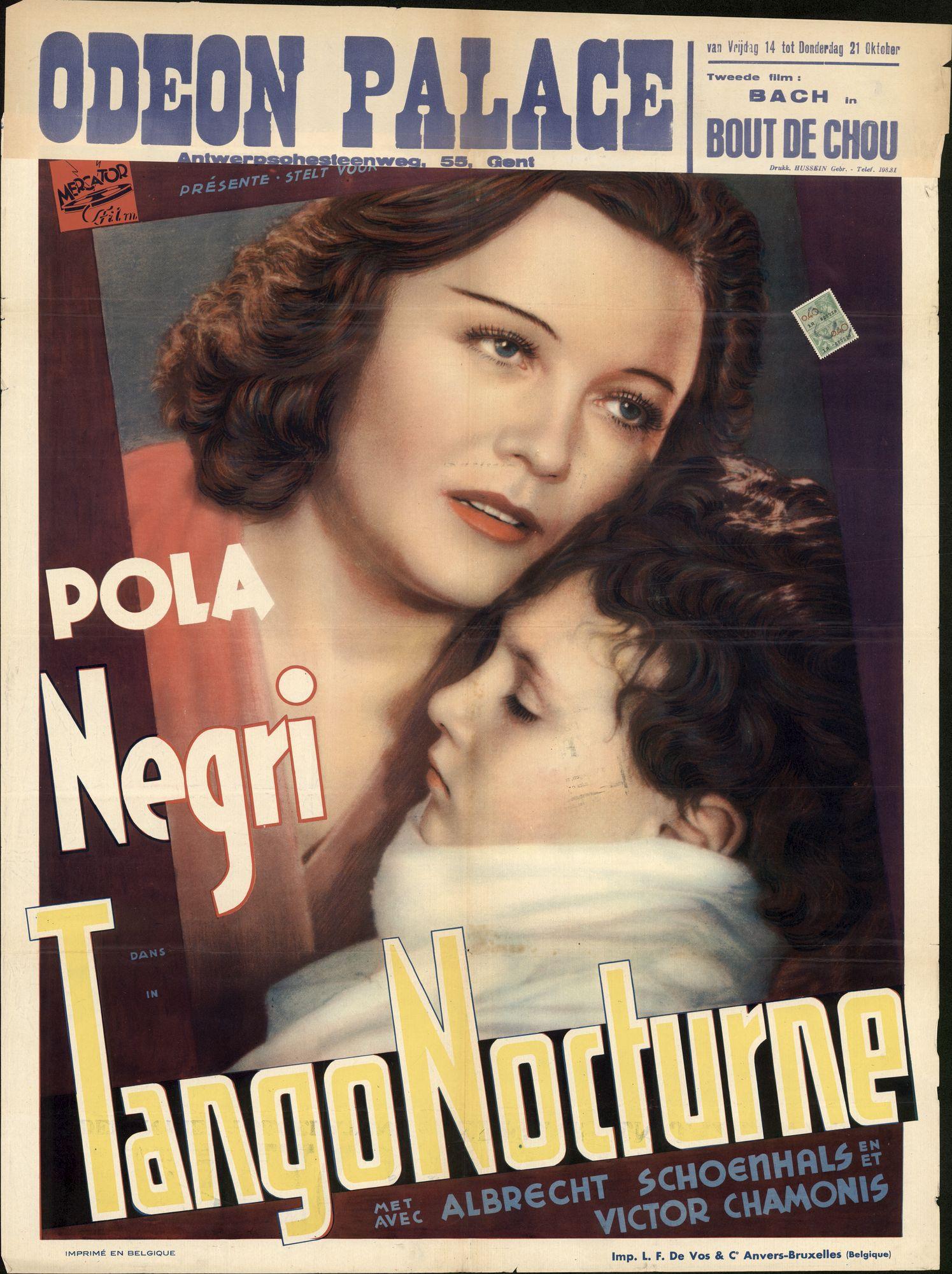 Tango Nocturne, Odeon Palace, Gent, 14 - 21 oktober 1938