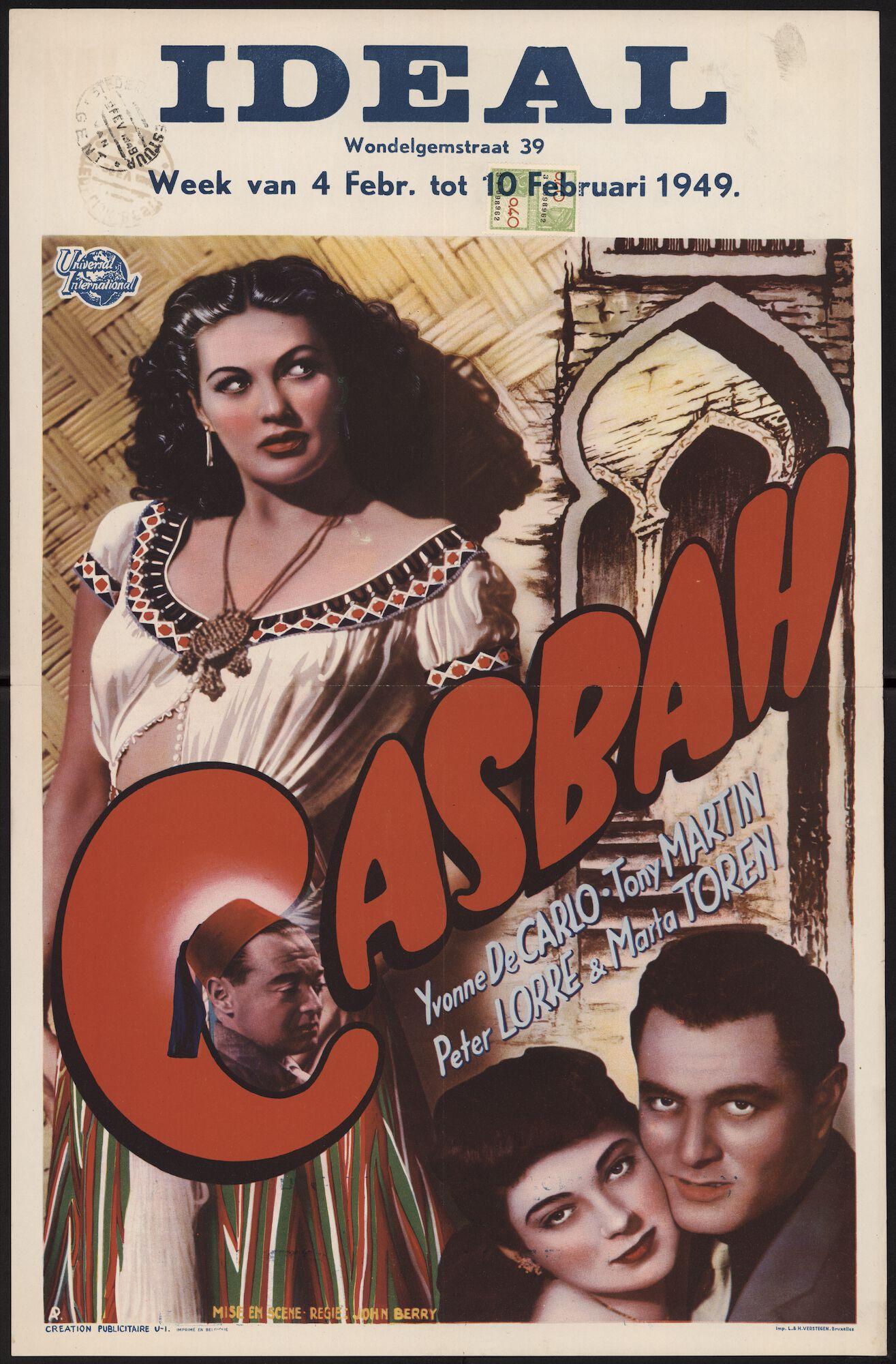 Casbah, Ideal, Gent, 4 - 10 februari 1949