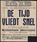 [Kinder, wie die Zeit vergeht] | De tijd vliedt snel. Een filmrevue uit de oude doos, [Select], Gent, [14 - 20 mei] 1943
