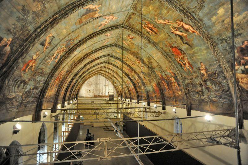 Restauratiewerken Sint-Pietersabdij 06