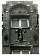 Gent: Limburgstraat 14: Gevelbeeld, 1980