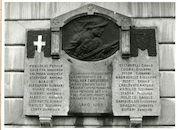 Gent: Martelaarslaan: Gedenkplaat, 1980