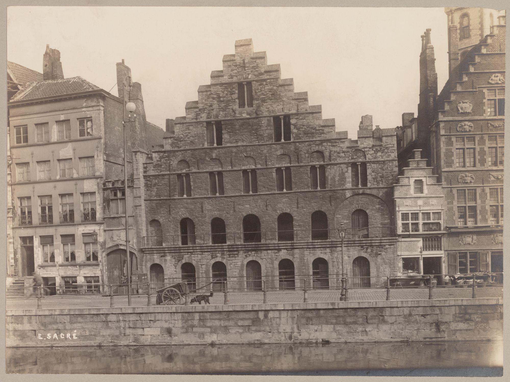 Gent: Korenstapelhuis, Graslei
