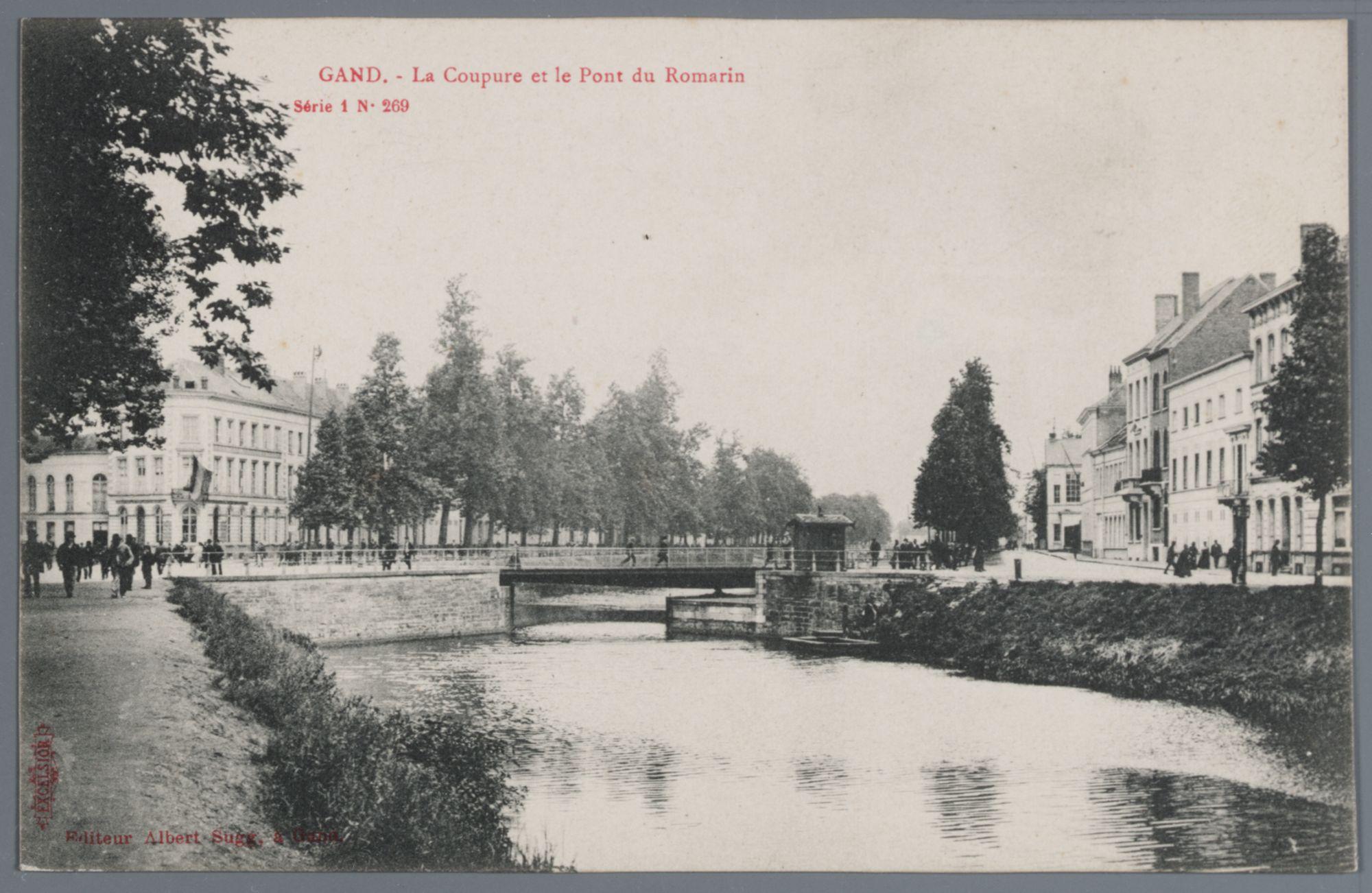 Gent: Coupure en Rozemarijnbrug