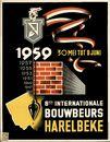 8 ste Internationale Bouwbeurs Harelbeke 1959, 30 mei tot 8 juni