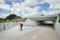 Fietstunnel Dampoort