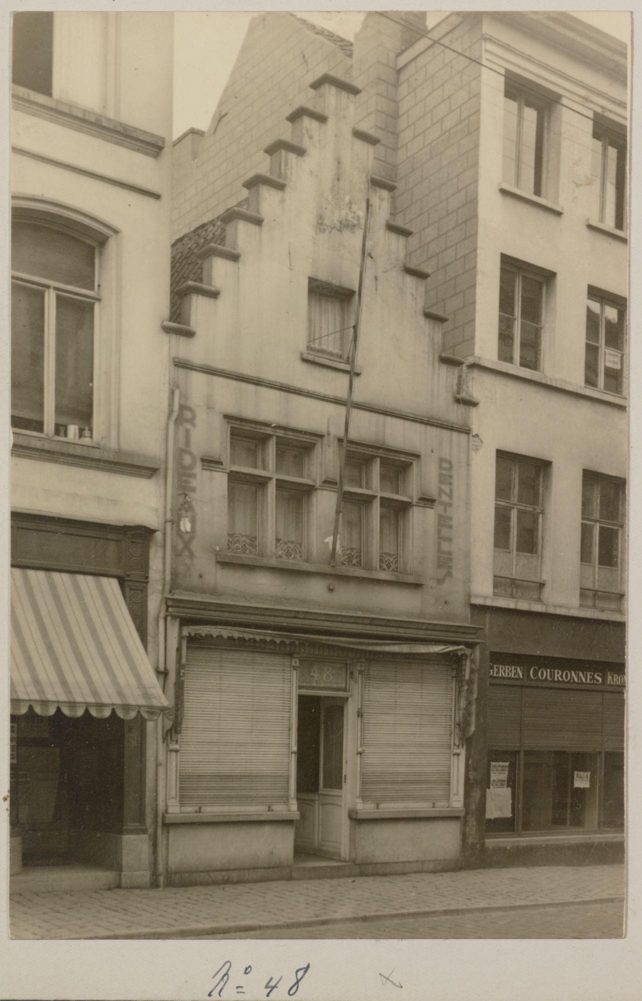 Gent: Trapgevelhuis, Lange Violettestraat