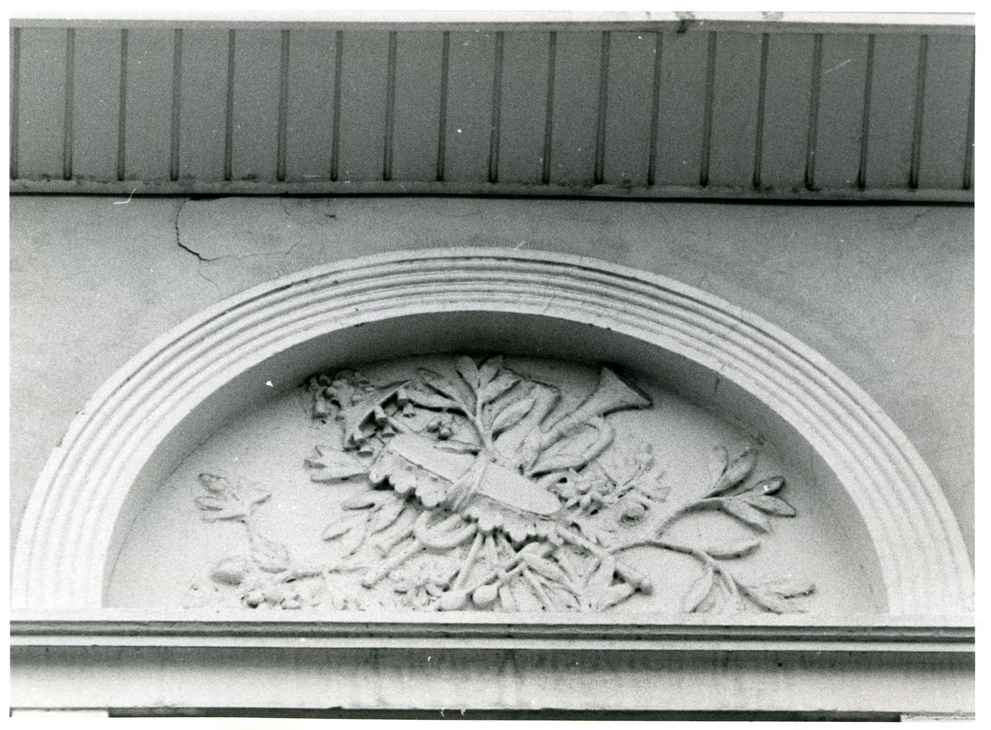 Gent: Zilverenberg 3-5: Beeldhouwwerk, 1979