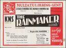 Opvoering van The Rainmaker (De Regenmaker), Konninklijke Nederlands Schouwburg, Gent,1959