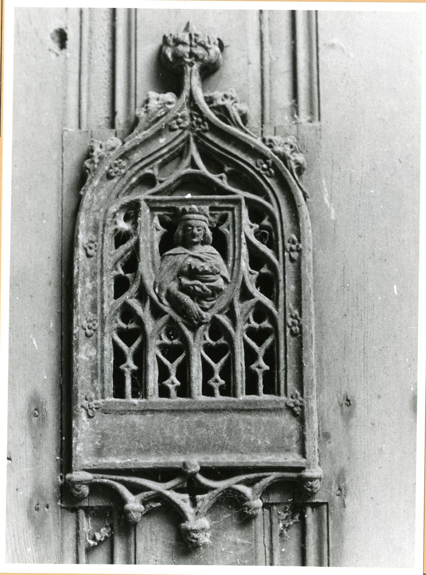 Gent: Gravin Johannastraat 1: Begijnhof: deurluik, 1979