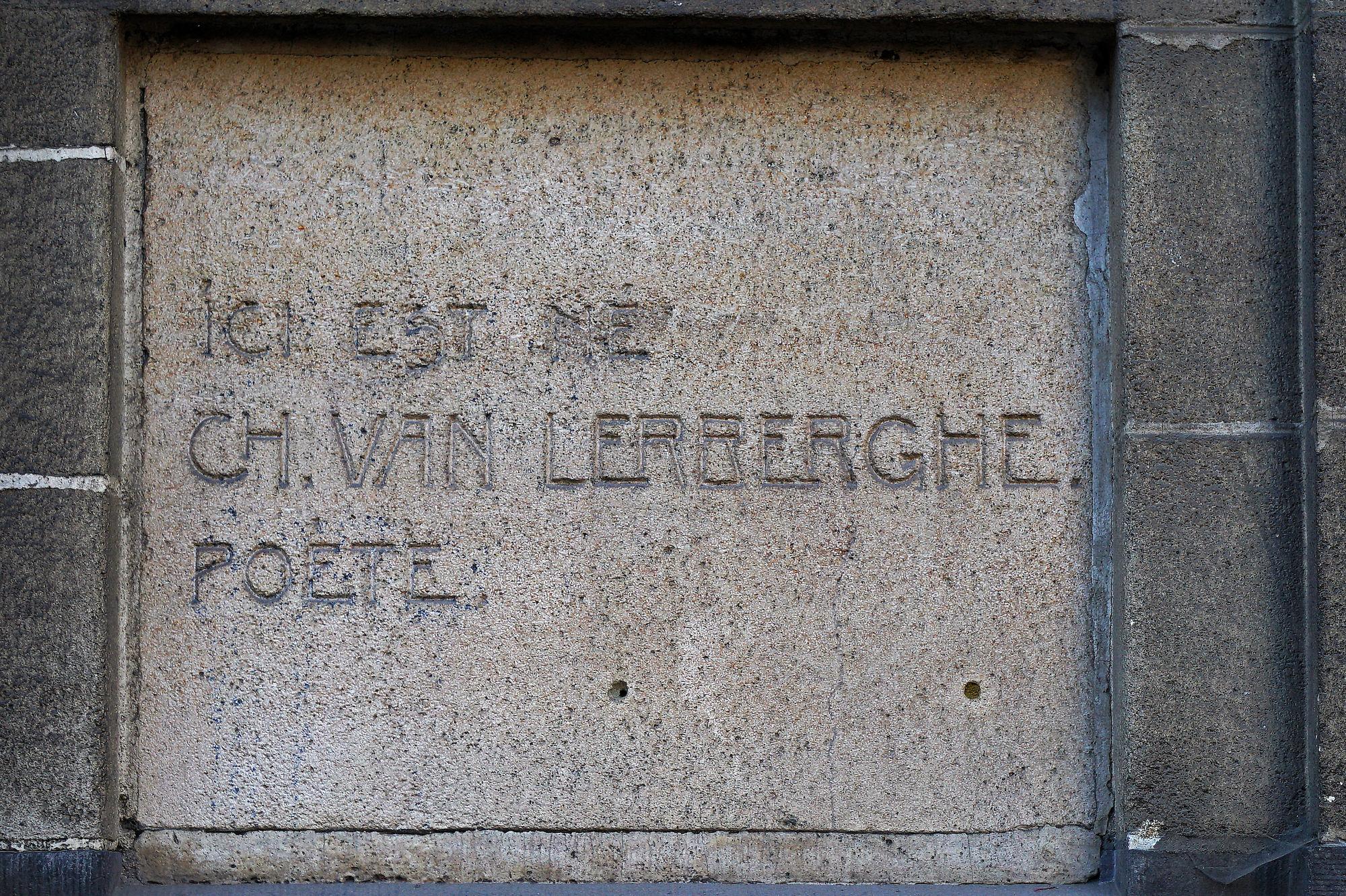 Gedenkplaat - Charles Van Lerberghe