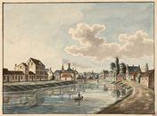 Gent: Leie aan Minnemeers, Minnemeersbrug en Reke