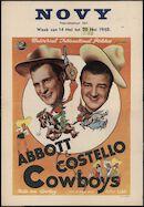 Ride 'Em Cowboy | Cowboys, Novy, Gent, 14 - 20 mei 1948