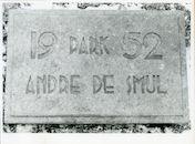 Ledeberg: Edward Peynaertkaai: Gedenksteen, 1979