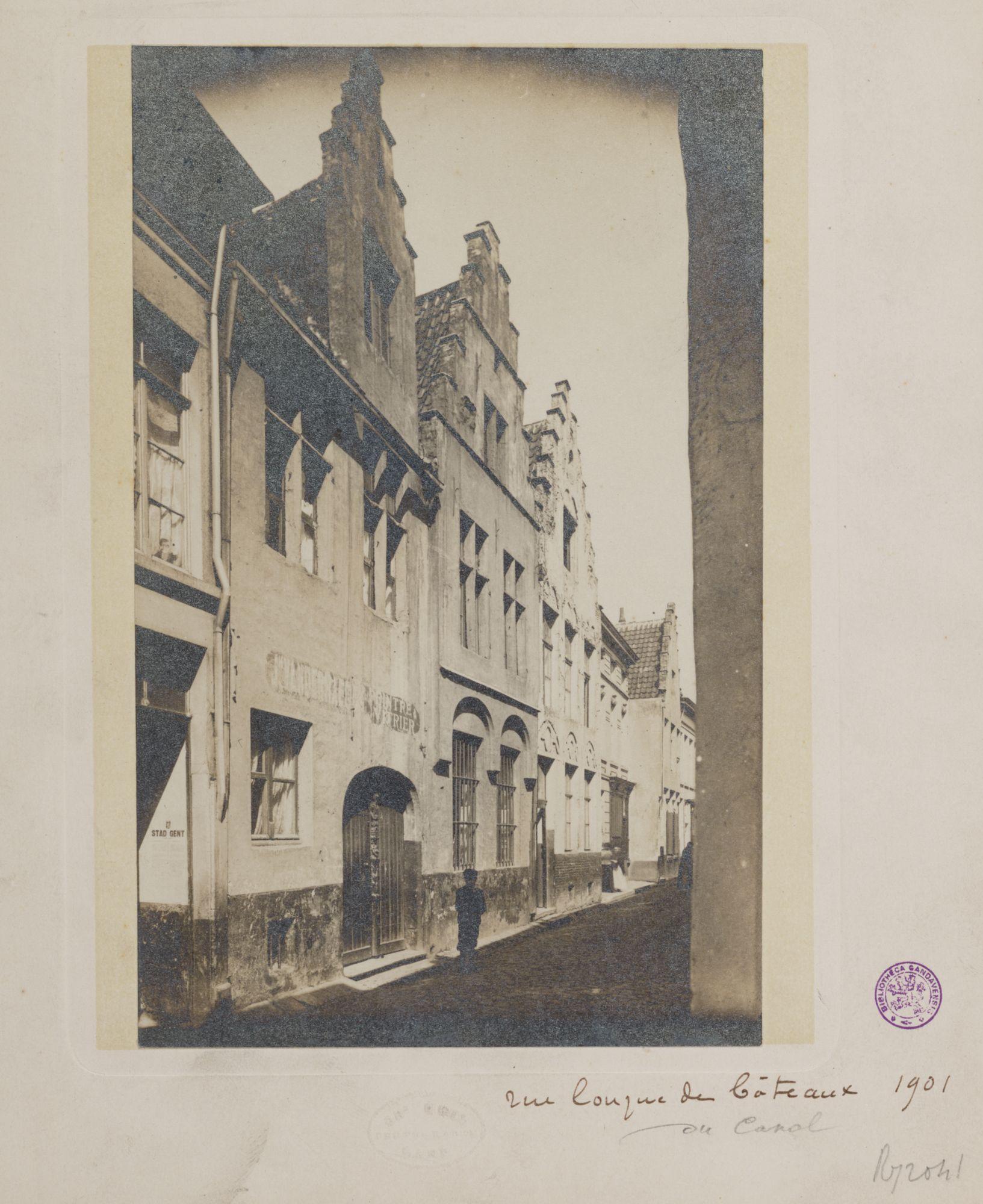 Gent: Trapgevelhuizen, Lange Schipgracht