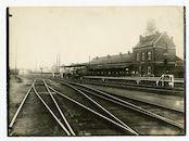 Gentbrugge: spoorwegstation Merelbeke