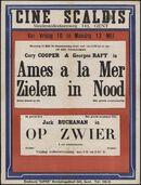 Âmes à la mer   Zielen in nood (film 1), Op zwier (film 2), Ciné Scaldis, Gent, 10 - 13 mei [1940]