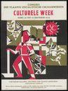 Culturele week, Congres van de Vlaamse Socialistische Cultuurwerken, Gent, van 13 tot 21 oktober 1956