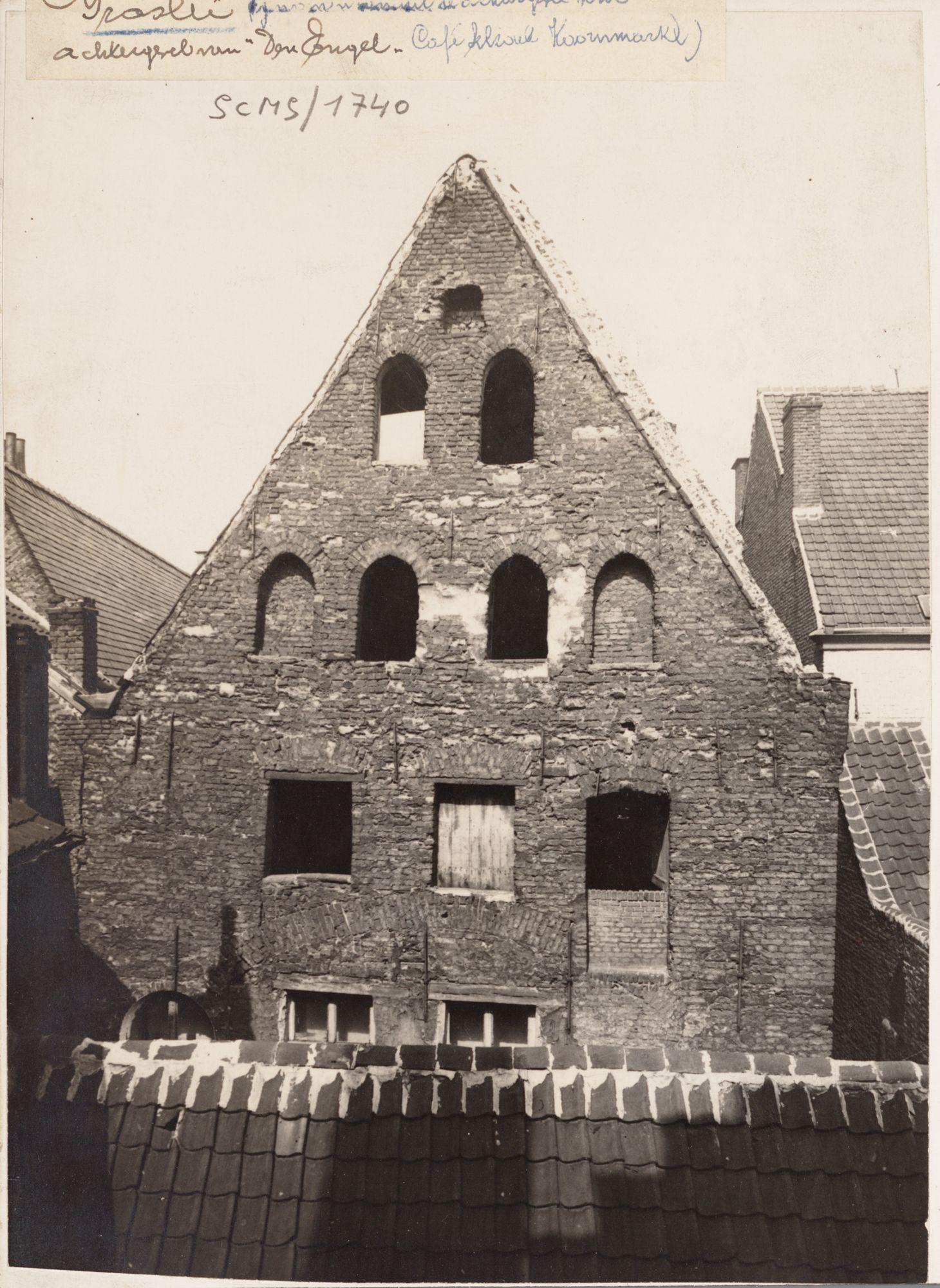 Gent: Huis Den Engel, Graslei