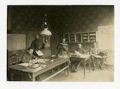 Gent: Nederkouter 22: kantoor van het Haupt-Wasserbauamt (de hoofdwaterbouwkundige dienst), 1915-1916