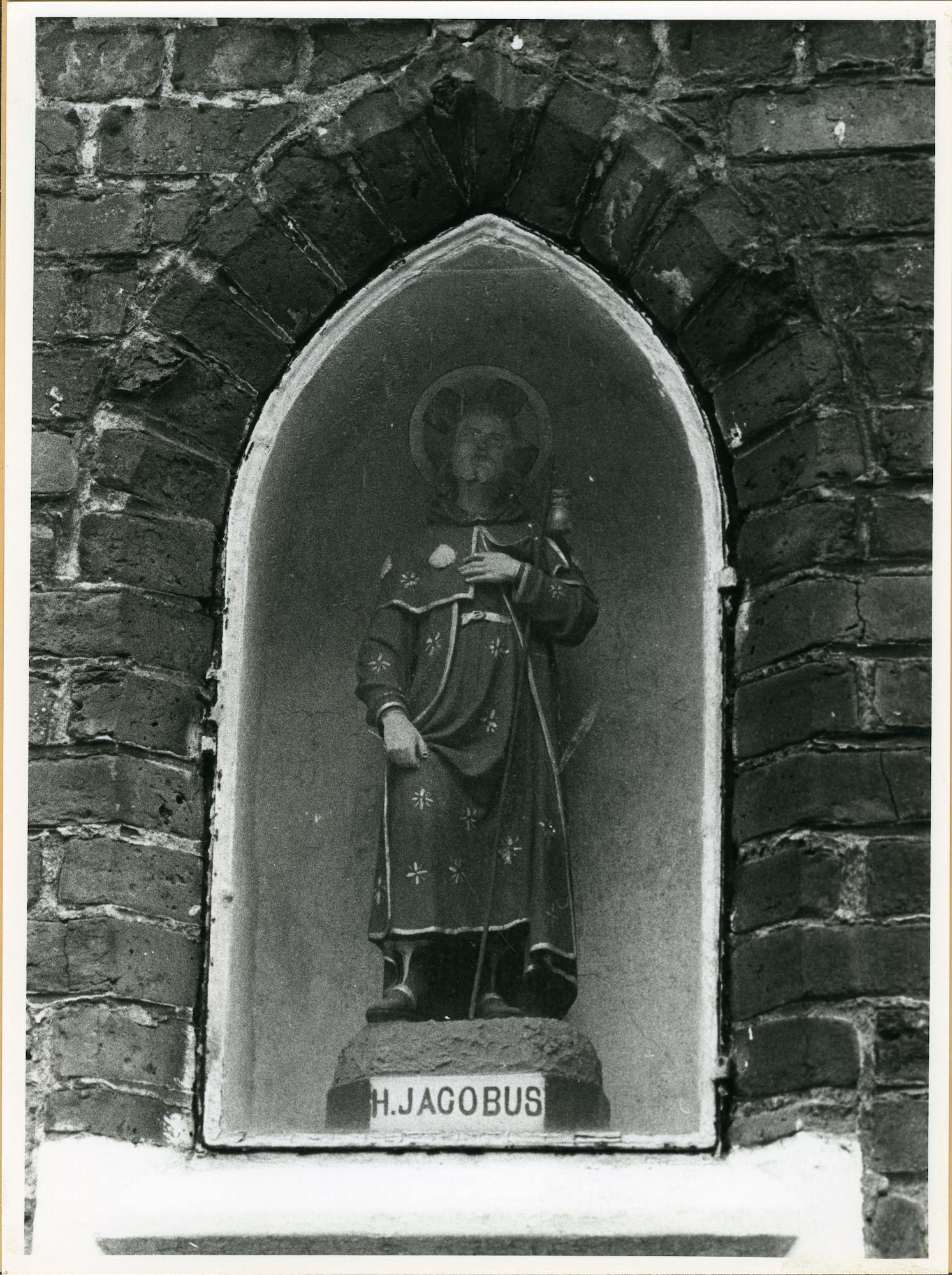 Sint-Amandsberg: Sint-Baafstraat 27: Niskapel