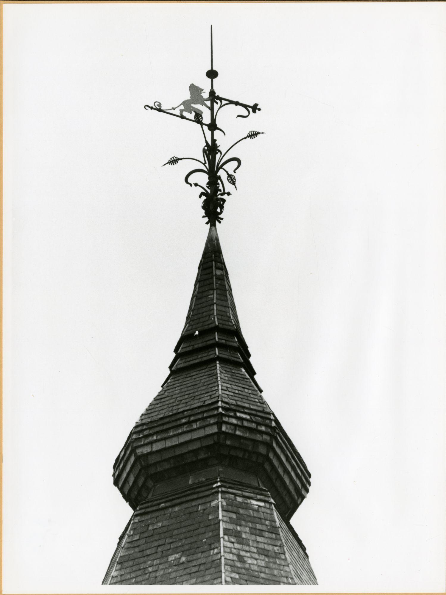 Gent: Eendrachtstraat: windwijzer, 1979