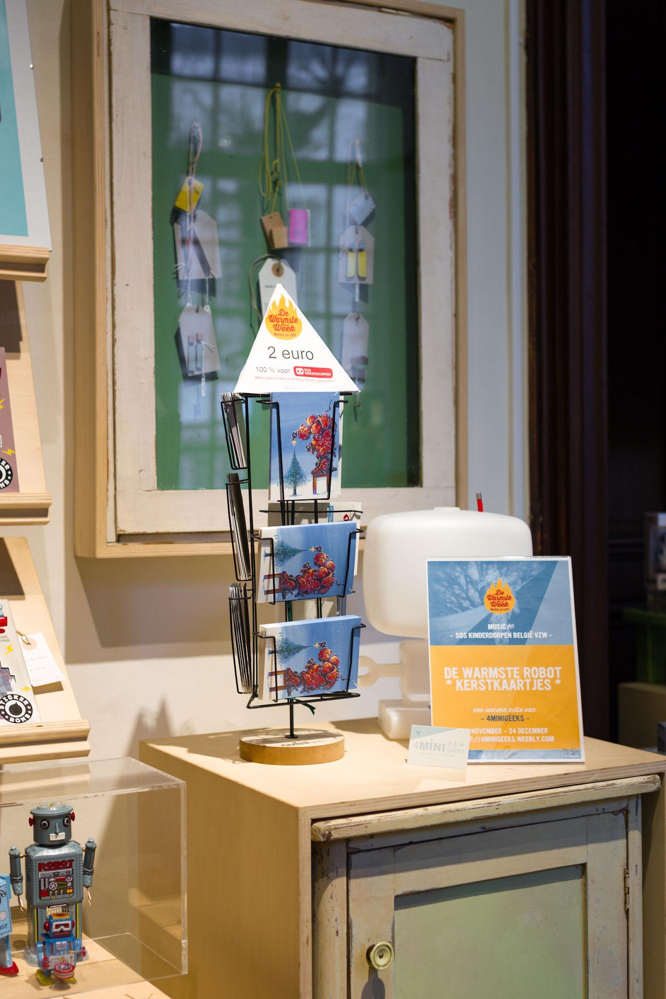 Design Museum Gent - shop - Warmste Week 2017