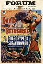 David et Bethsabee | David en Bethsabee | David and Bethsheba, Forum, Gent, 7 - 13 maart 1952