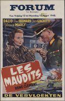 Les maudits   De vervloekten, Forum, Gent, 12 - 15 maart 1948