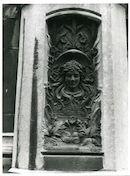 Gent: Sint Michielsbrug: Beeldhouwwerk, 1980