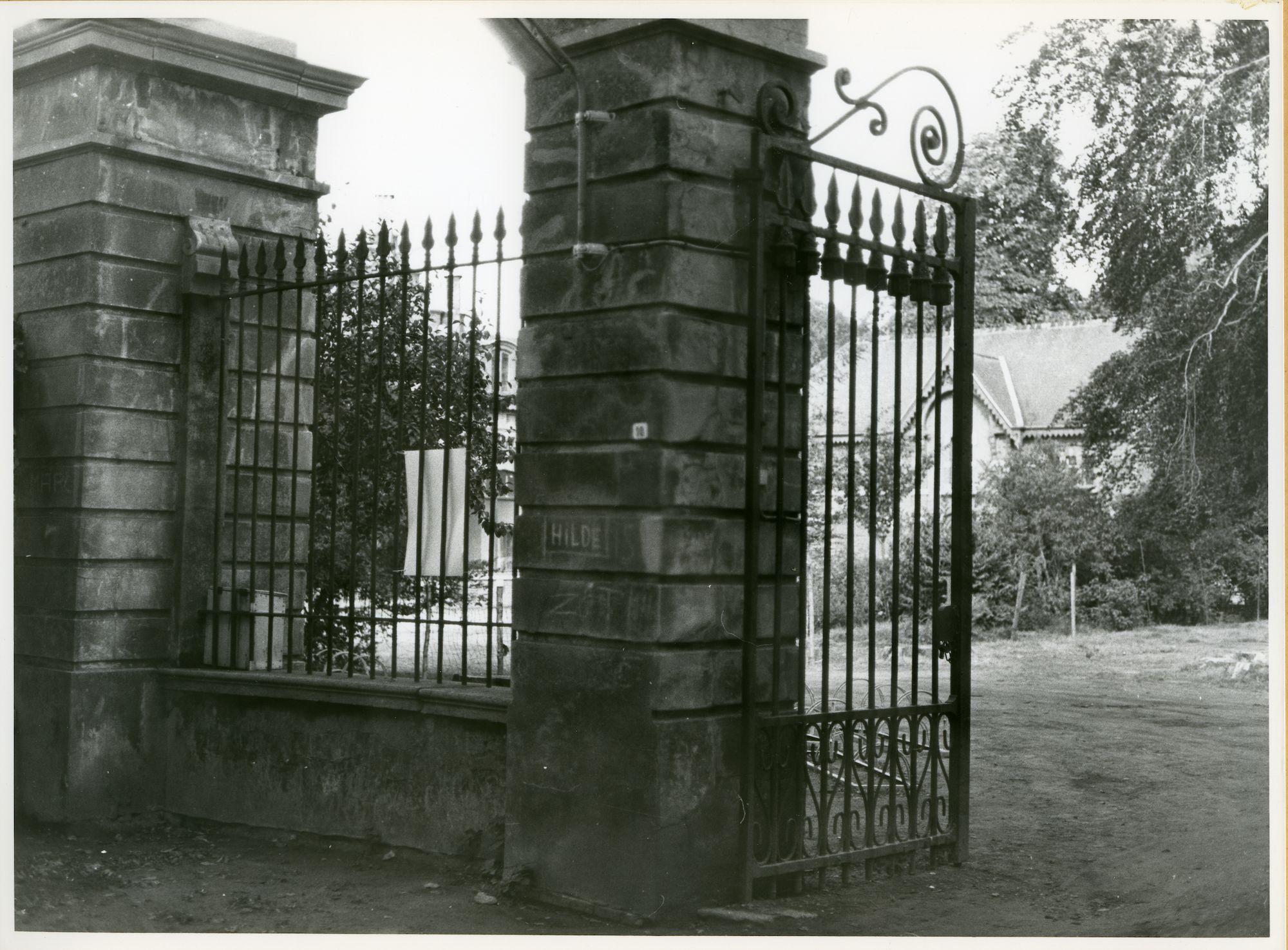 Mariakerke: Alphonse Claeys Bouuaertlaan: Hek, 1979