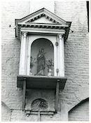 Gent: Vrouwebroersstraat 26-27: Gevelkapel, 1979