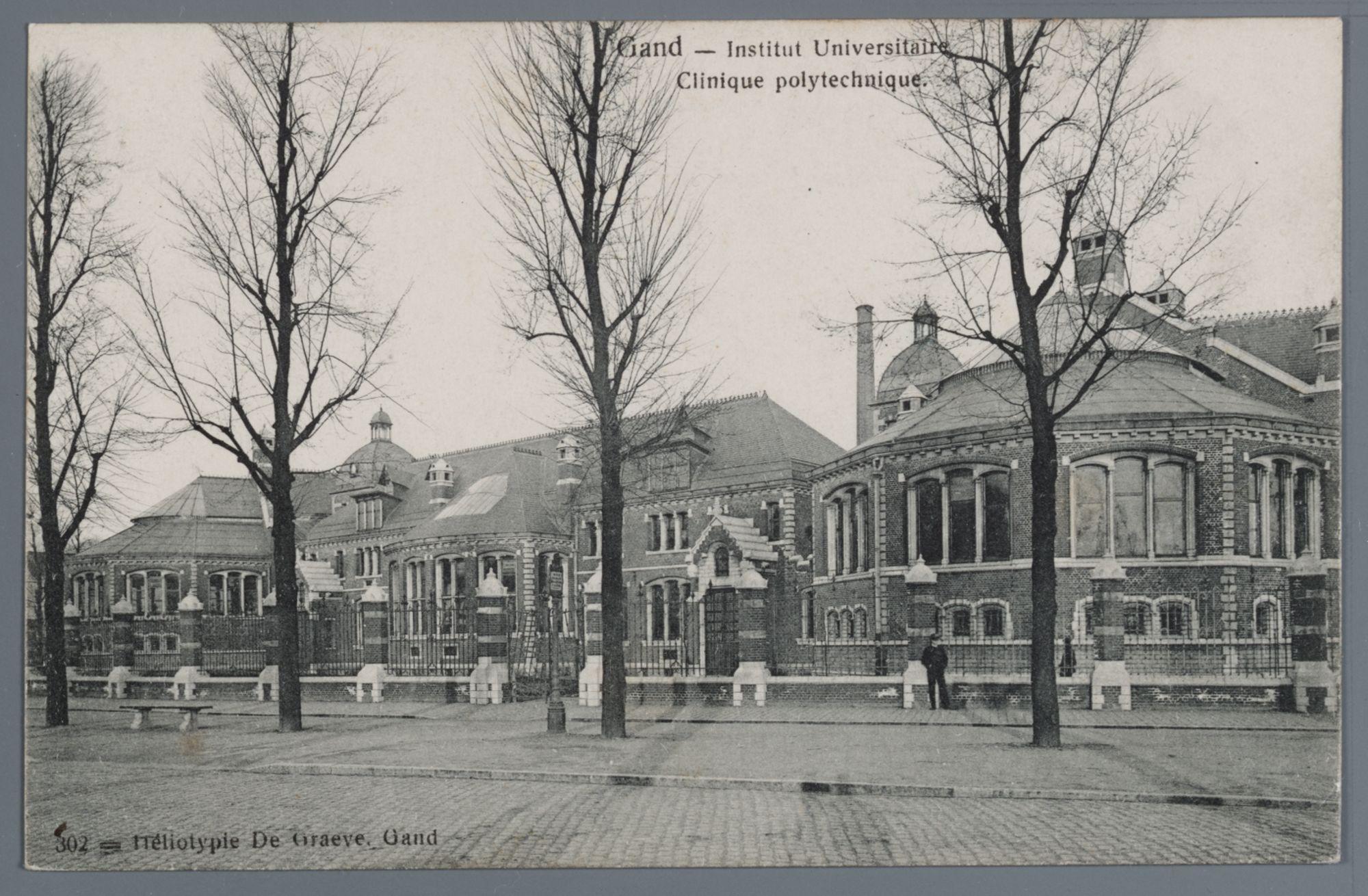 Gent: universitaire polykliniek (ziekenhuis) van de Bijloke
