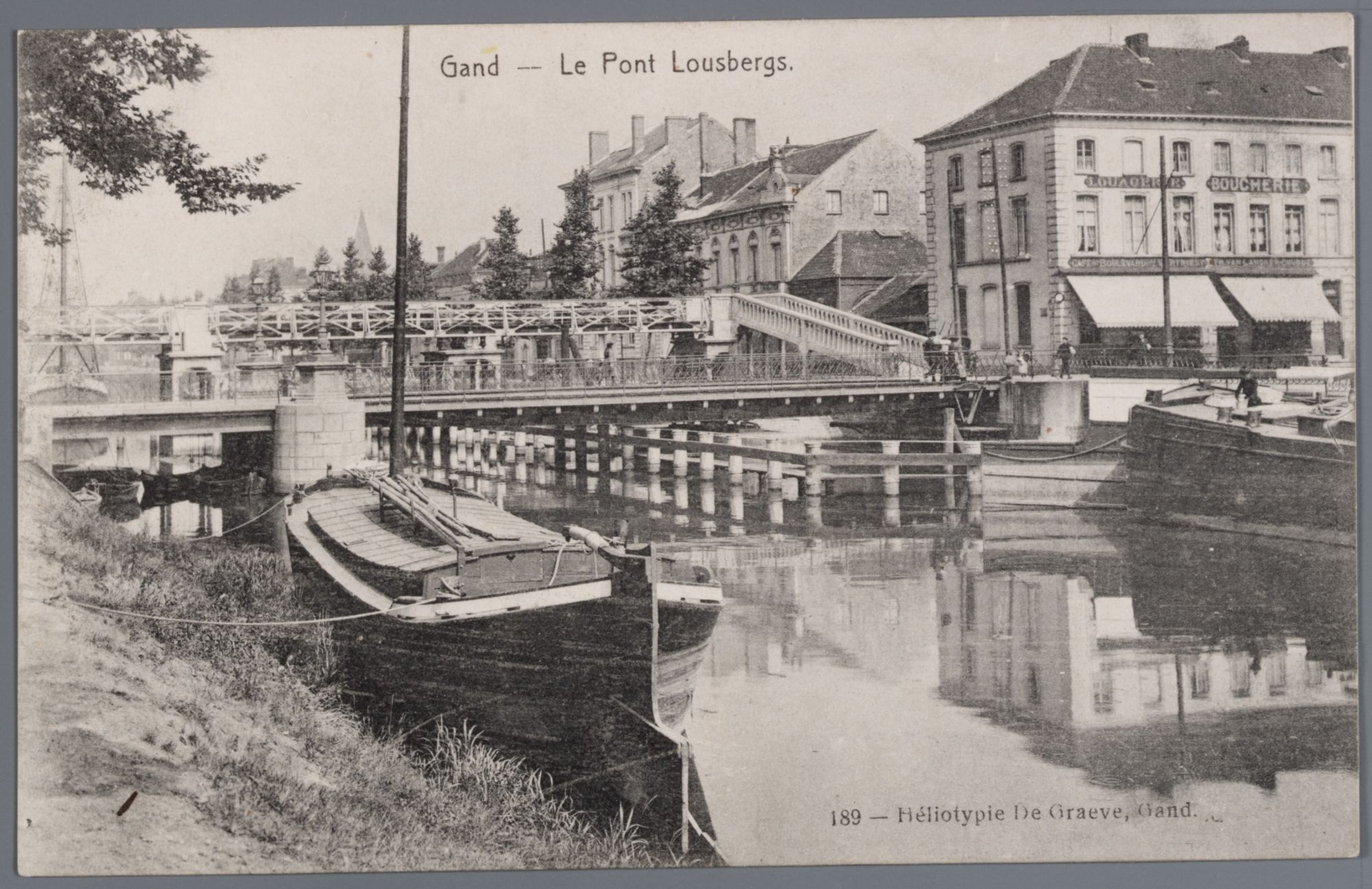 Gent: Kasteellaan, Ferdinand Lousbergsbrug