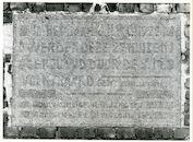Gent: Wittelinkstraat: Gedenksteen, 1979