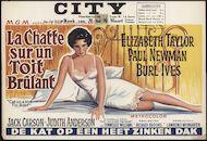 Cat on a Hot Tin Roof | La chatte sur un toit brûlant | De kat op een heet zinken dak, City, Gent, 20 - 26 maart 1959