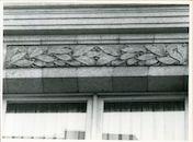 Gent: Voldersstraat 1: Sierlijst, 1979